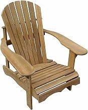 Cool Products Stuhl, Bausatz Adirondack Chair, beige, 91 x 75 x 91 cm, 01-TT-Addi-1S