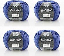 Cool Wool Lana Grossa * Cool Wool Fb 548 * 4