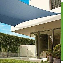 Coolaroo 459598 Premium Sonnensegel, quadratisch,