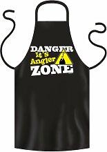 Coole Grill- oder Kochschürze -- DANGER ZONE --
