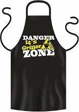 Coole Grill- oder Kochschürze --DANGER ZONE