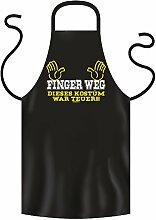 Coole Grill- oder Kochschürze - FINGER WEG - Fun