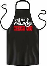 Coole Grill- oder Kochschürze für Angler --..