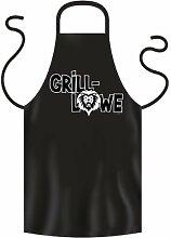 Coole Grillschürze: Grill-Löwe :) Spaß Fun BBQ