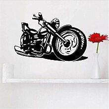 Coole Harley Motorrad Wandkunst Aufkleber