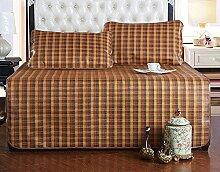 Coole Matratze Dreiteilige Matten Matten Matten der Matten der Matten der Doppelmatten Coole Bambusmatte ( größe : 180*200cm )