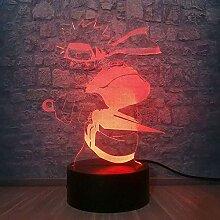 Coole Naruto Uzumaki Actionfigur LED Nachtlicht 7