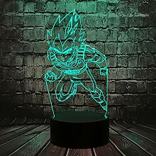 Coole Seven Dragon Ball Son Goku Stanzen Acryl 3D