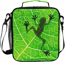 Cooler Lunch Box Frog Shadow Insulated Lunch Bag