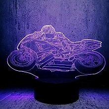 Cooler Motorrad-Aufkleber, Türaufkleber für