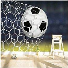 Cooles Fußball-Wandgemälde - personalisierte