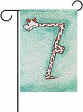 COOSUN 7 Schlange Anzahl Polyester Garten Flagge
