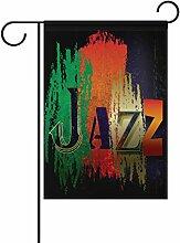 COOSUN Abstrakte Jazz Musik Hintergrund Polyester