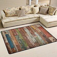 COOSUN Abstrakter Anstrich-Hintergrund Teppich