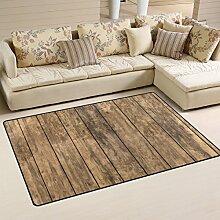 coosun Altem Holz Boden Bereich Teppich Teppich