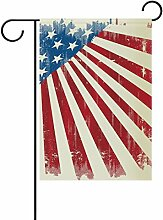 COOSUN American Poster Polyester Garten Flagge im