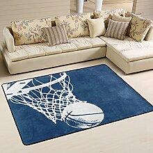 coosun Basketball Hintergrund Bereich Teppich