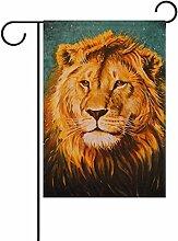 COOSUN der Löwe von Judah Polyester Garten Flagge