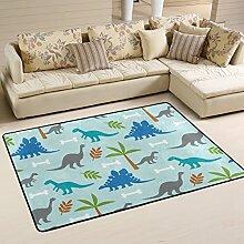 coosun Dinosaurier Bereich Teppich Teppich