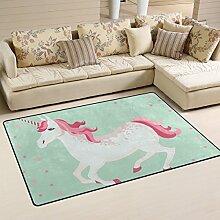 coosun Einhorn Bereich Teppich Teppich rutschfeste