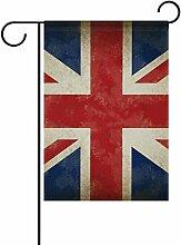 COOSUN Großbritannien Alte Grunge Flagge