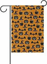 COOSUN Halloween Elemente Polyester Garten Flagge