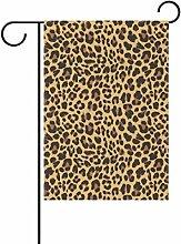 COOSUN Leopard Muster Design Polyester Garten