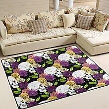COOSUN-Muster, Rutschfest, Teppich, Fußmatte