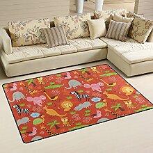 coosun niedliche Tiere Muster Bereich Teppich