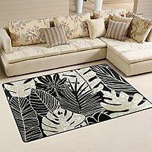 coosun Palmblättern Bereich Teppich Teppich