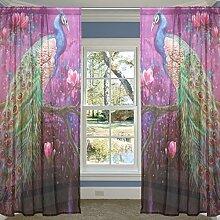 COOSUN Pfau Gemälde Art Decor Schlafzimmer Zimmer