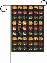 COOSUN Pumpkin Flagge, Polyester, Garten-,