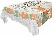 COOSUN Rectangle Fox Alles Gute zum Geburtstag