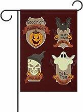 COOSUN Retro Halloween Tags Polyester Garten