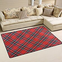 coosun Royal Stewart Tartan Bereich Teppich