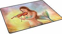 COOSUN Schöne Fantasie Meerjungfrau Spielt Auf