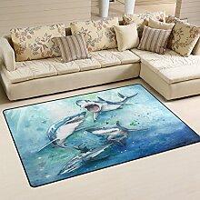 coosun Sharks Bereich Teppich Teppich rutschfeste