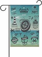 COOSUN Sommer Typografie Design Polyester