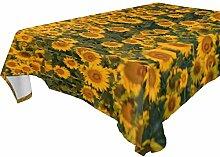 COOSUN Tischdecke, Polyester, rechteckig,
