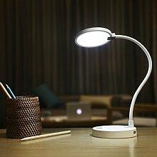 COOWOO Dimmbar Schreibtischlampe Leselampe
