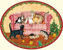 Coppenrath Adventskalender, mit Kätzchen-Motiv,