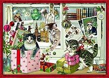 Coppenrath Adventskalender Weihnachtskätzchen
