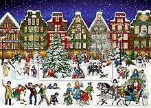 Coppenrath Winterabend im Ort Adventskalender mit