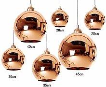 Copper Mirror Ball Deckenleuchten Kronleuchter