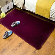 Copper Plüsch Shag Teppich,Solid Flauschige