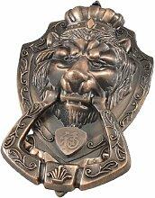 Copper Tone Lion Head Schubladenschrank Tür Pull Griff Knauf