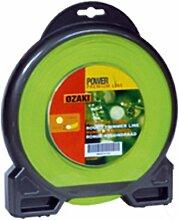 Coque Bi-matière Fil Ozaki Premium Line Rond Diamètre (mm): 2 - Longueur (M): 63 - Herbes épaisses