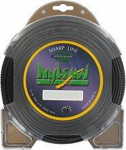 Coque Fil Nylsaw Carré denté Diamètre (mm): 3.5 - Longueur (M): 27 - Herbes épaisses - Sols racailleux - Broussailles et ronces