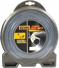 Coque Fil Ozaki Titanium Power Pentagonal Diamètre (mm): 2.4 - Longueur (M): 97 - Herbes épaisses - Sols racailleux
