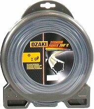 Coque Fil Ozaki Titanium Power Pentagonal Diamètre (mm): 3 - Longueur (M): 62 - Herbes épaisses - Sols racailleux